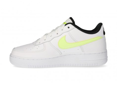 Chaussures Nike Air Force 1 LV8 blanche Volt - Pack Worldwide vue intérieure