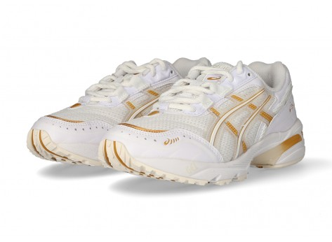 Asics Gel-1090 New Strong Femme blanche et or - Chaussures Prix ...