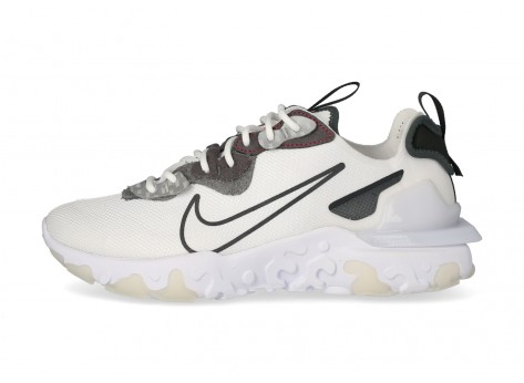 Nike React Vision 3M blanc anthracite - Chaussures Baskets homme - Gov