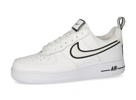 Nike Air Force 1 Low noire et blanche - Chaussures Baskets homme ...