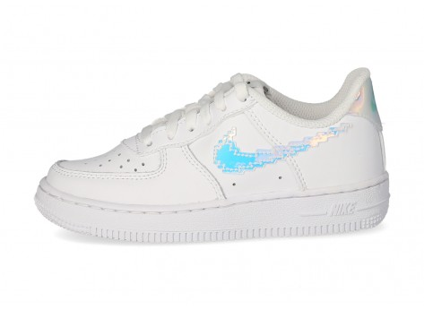 Nike Air Force 1 Low Plugged In Enfant blanche - Chaussures Enfant ...
