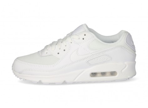 Nike Air Max 90 blanche - Chaussures Baskets homme - Beitjalapharma