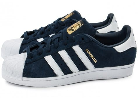 basket adidas superstar homme bleu