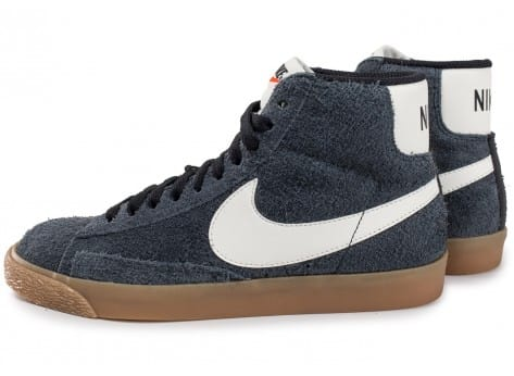 first rate best authentic new york Nike Blazer Mid W Vintage noire - Chaussures Baskets femme - Chausport