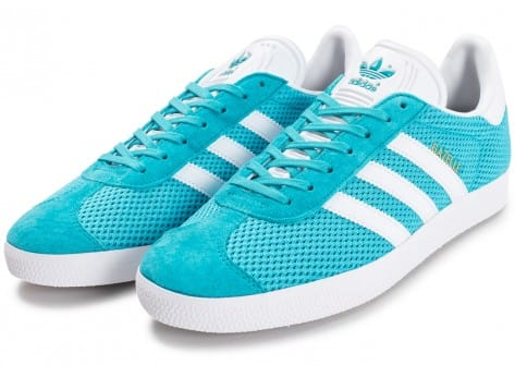 Chaussures adidas Gazelle Mesh turquoise vue intérieure