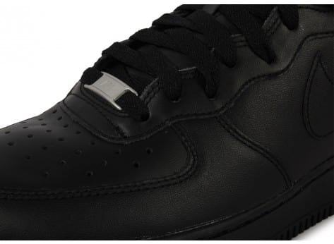 Chaussures Nike Air Force 1 Mid 07 Noire vue dessus