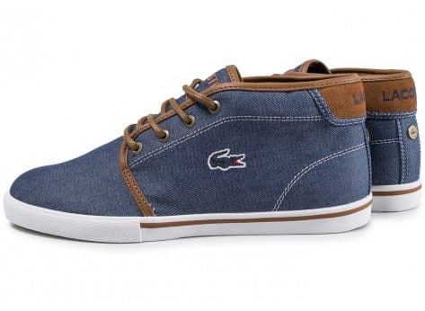 Lacoste Streetwear Ampthill Mid Bleue Homme