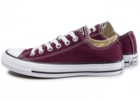 Converse Chuck Taylor All Star Low W bordeaux