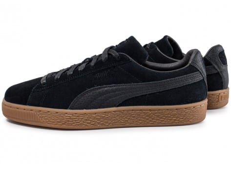 Baskets Suede Warmth Homme Organic Chaussures Puma Noire Classic Tzq8Ofw
