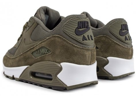 new product 6950c 40997 ... Chaussures Nike Air Max 90 Essential Medium Olive vue dessous ...