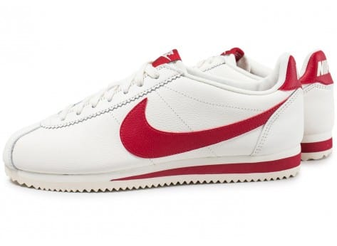 Nike Classic Cortez Leather SE blanc rouge