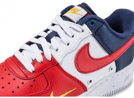air force one bleu blanc rouge femme