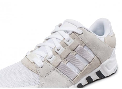 Chaussures adidas EQT Support RF blanche vue dessus
