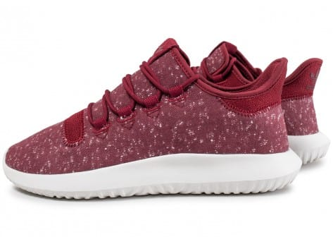 Conception innovante 2c555 d3b17 adidas Tubular Shadow Bordeaux et blanc