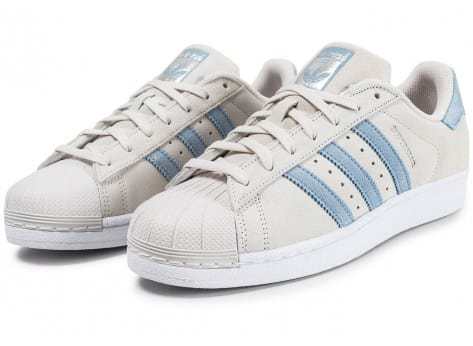 Chaussures adidas Superstar Suede Pearl Grey vue intérieure