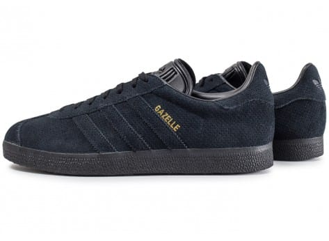 adidas Gazelle Core noir et or