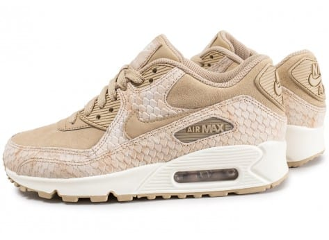 nike air max 90 premium baskets beige