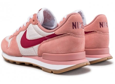 Chaussures Nike Internationalist W rose vue dessous