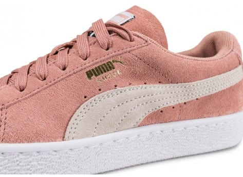 Puma Suede Classic W rose Chaussures Chaussures Chausport