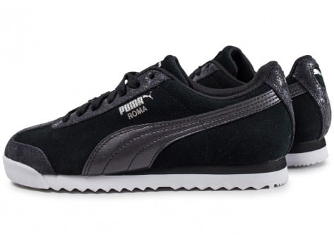 Puma Roma W Metallic Safari noire