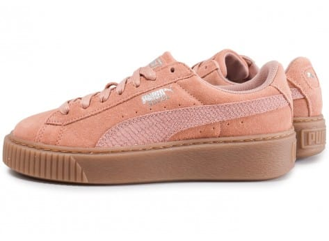 Platform Suede Chausport Puma Animal Rose Chaussures 6g7fybIYvm
