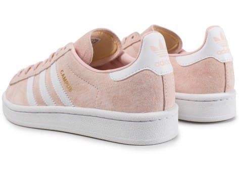 Chaussures adidas Campus W rose vue dessous
