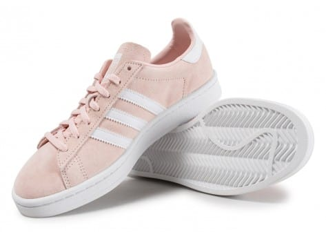 Chaussures adidas Campus W rose vue avant