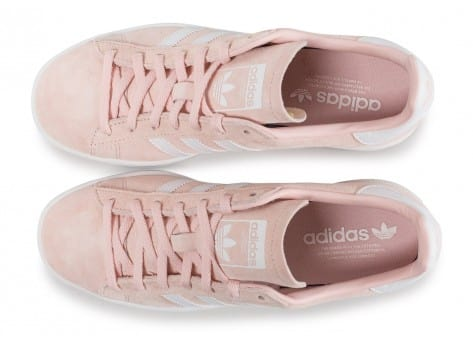 Chaussures adidas Campus W rose vue arrière