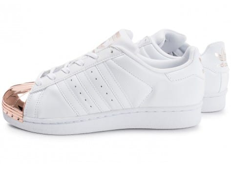 adidas Superstar 80s Metal Toe blanche -