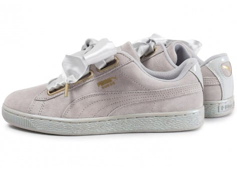 baskets puma suede heart satin