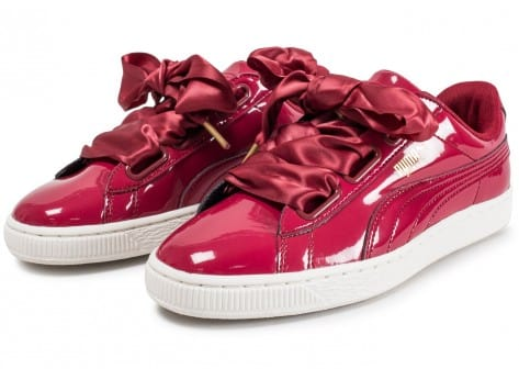Patent Rouge Femme Heart Chausport Puma Basket Chaussures Baskets qZOaax