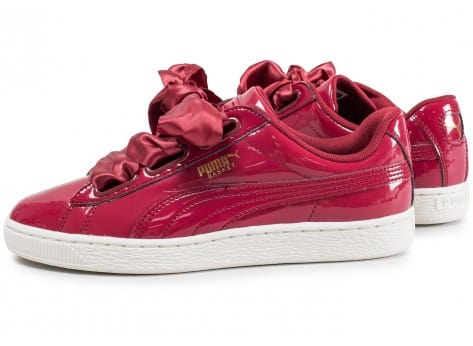 basket puma heart