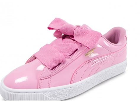 Basket Heart Patent Chaussures Rose Puma Chausport jR4Lqc35A