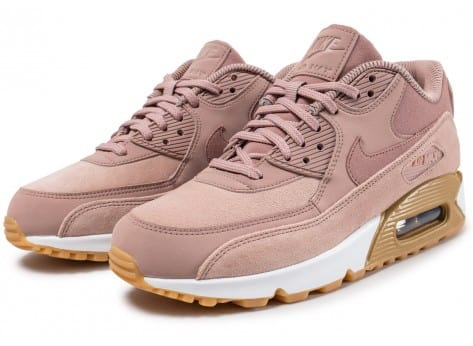 great prices coupon code best choice Nike Air Max 90 SE W rose Particle Pink - Chaussures Baskets femme ...