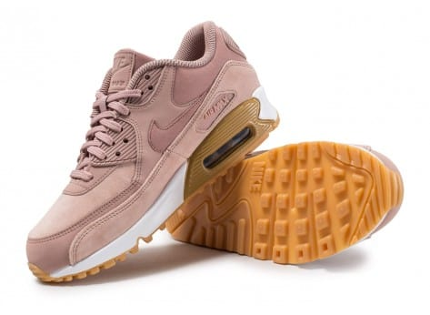huge selection of c02ba 44ef7 ... Chaussures Nike Air Max 90 SE W rose Particle Pink vue avant ...