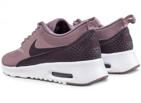 Chaussures Nike Air Max Thea taupe grey vue dessous