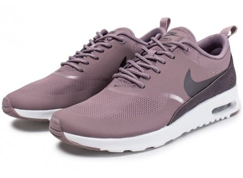 Chaussures Nike Air Max Thea taupe grey vue intérieure