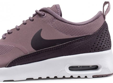 Chaussures Nike Air Max Thea taupe grey vue dessus