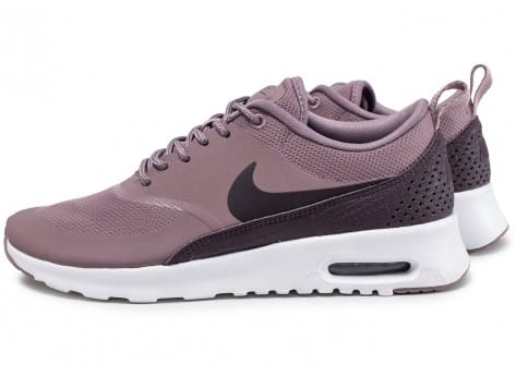Chaussures Nike Air Max Thea taupe grey vue extérieure