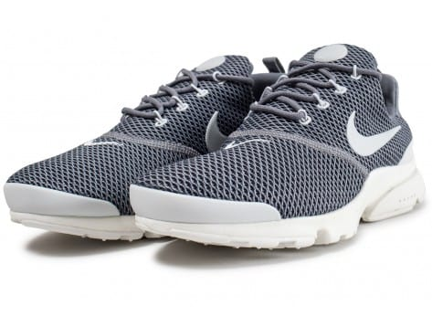 Chaussures Nike Presto Fly grise vue intérieure