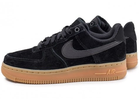 Nike Air Force 1 Low 07 SE W Suede Noire