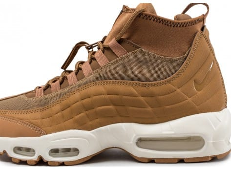 best service 1462a 420a9 Nike Air Max 95 Sneakerboot flax
