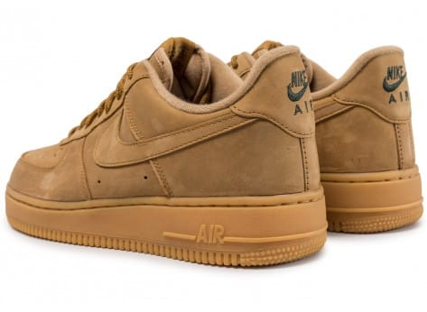 Chaussures Nike Air Force 1 '07 Low Flax vue dessous
