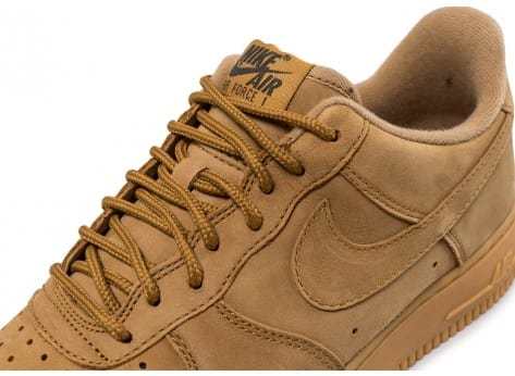 Chaussures Nike Air Force 1 '07 Low Flax vue dessus
