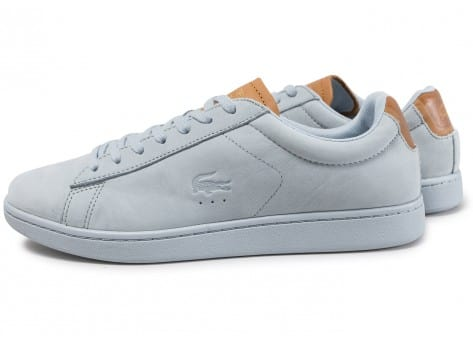 Chaussures Lacoste Carnaby bleues Fashion homme OSUplW9