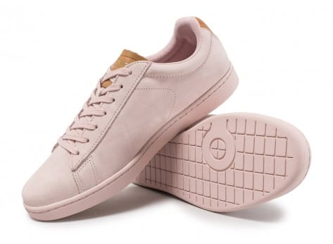 Chaussures Lacoste Carnaby Evo 317 rose vue avant