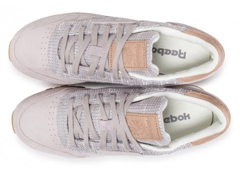 Reebok Classic Leather EBK mauve Chaussures Chaussures