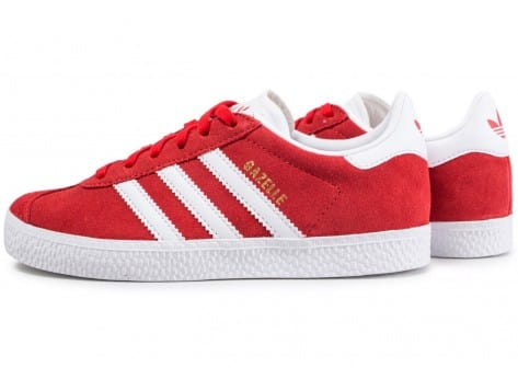 basket adidas gazelle rouge