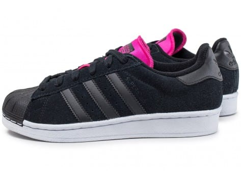 watch cheapest release date: adidas Superstar W noire et rose