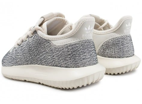 Chaussures adidas Tubular Shadow W grise vue dessous